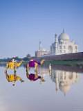 Taj Mahal, Agra, Uttar Pradesh, India Photographic Print by Doug Pearson