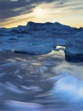 Icebergs, Disko Bay, Greenland Photographic Print by Peter Adams