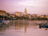 Waterfront at Split, Croatia Photographic Print by Alan Copson