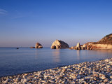 Aphodite's Rock, Cyprus Photographic Print by Rex Butcher