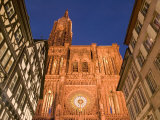 Cathedrale Notre Dame, Strasbourg, Alsace, France Photographic Print by Walter Bibikow