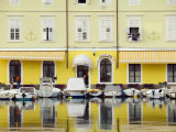 Waterfront at Cres, Cres Island, Croatia Photographic Print by Russell Young