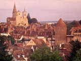 Semur-En-Auxois, Chablis, Burgundy, France Photographic Print by Doug Pearson
