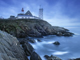 St. Mathieu Lighthouse, Finistere Region, Brittany, France Photographic Print by Doug Pearson