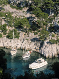 Les Calanques, Cassis, Cote d'Azur, France Photographic Print by Jon Arnold
