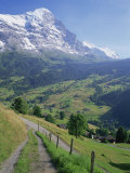 Eiger, Grindelwald, Berner Oberland, Switzerland Photographic Print by Jon Arnold