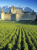 Chillon Chateau, Switzerland Fotografie-Druck von Peter Adams