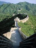 Great Wall of China at Mutianyu, China Photographic Print by James Montgomery Flagg