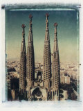 Sagrada Familia, Barcelona, Spain Photographic Print by Jon Arnold