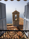 Church Bell Tower, Eze, French Riviera, Cote d'Azur, France Photographic Print by Doug Pearson