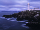 Lighthouse at Fanad Head, Donegal Peninsula, Co. Donegal, Ireland Fotografisk tryk af Doug Pearson