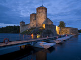 Olavinlinna Castle, Savonlinna, Eastern Finland, Finland Photographic Print by Doug Pearson