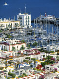 Puerto de Mogan, Gran Canaria, Canary Islands, Spain Fotografie-Druck von Peter Adams