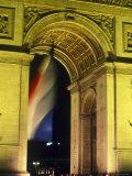 Arc de Triomphe, Paris, France Photographic Print by Jon Arnold