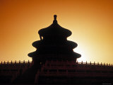 Qinan Hall,Temple of Heaven, Beijing, China Photographic Print by James Montgomery