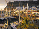 Puerto de Mogan, Gran Canaria, Canary Islands, Spain Photographic Print by Peter Adams