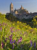 Segovia, Castilla Y Leon, Spain Fotodruck von Peter Adams