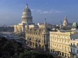 Capitolio National Building, Havana, Cuba Photographic Print by Gavin Hellier