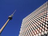Fernsehturm, Alexanderplatz, Berlin, Germany Photographic Print by Jon Arnold