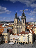 Old Town Square, Prague, Czech Republic Photographic Print by Rex Butcher