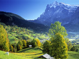 Grindelwald, Berner Oberland, Switzerland Photographic Print by Peter Adams