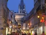 Rue Musette and Eglise Notre Dame, Dijon, Burgundy, France Photographic Print by Walter Bibikow