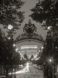 Arco de Triunfo, París, Francia Lámina fotográfica por Peter Adams
