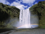 Skogafoss Waterfall, Iceland Photographic Print by Jon Arnold