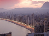 Playa Del Levante, Benidorm, Costa Blanca, Spain Photographic Print by Alan Copson