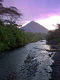 Arenal Volcano, Costa Rica Photographic Print by John Coletti