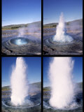 Strokkur, Geysir Geothermal Area, Iceland Photographic Print by Jon Arnold