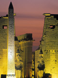 Luxor Temple, Luxor, Egypt Photographic Print by Peter Adams