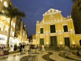 Santo Domingo Church, Old City of Macau, China Photographic Print by Michele Falzone