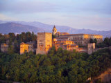 Alhambra Palace, Granada, Granada Province, Andalucia, Spain Photographie par Alan Copson