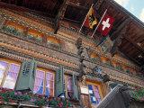 Chalet, Gsteig, Switzerland Photographic Print by Jon Arnold