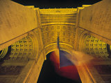 Arc de Triomphe, Paris, France Photographic Print by Jon Arnold