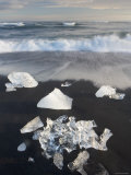 Jokulsarlon Glacial Lagoon, Iceland Photographic Print by Peter Adams