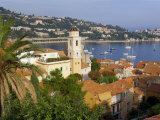 View over Villefranche, d'Azur, France Photographic Print by Peter Adams