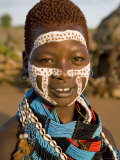 Hamer Tribe, Denbiti Village, Lower Omo Valley, Southern Ethiopia Photographic Print by Gavin Hellier