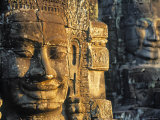 Angkor Thom, Siem Reap, Cambodia Photographic Print by Peter Adams