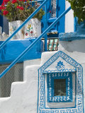 Building Detail, Pythagorio, Samos Island, Greece Photographic Print by Walter Bibikow