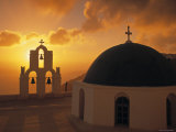 Kimis Theotokov Church, Santorini, Cyclades Islands, Greece Photographic Print by Walter Bibikow