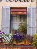 Restaurant Facade, Aix-En-Provence, Provence, France Photographic Print by Doug Pearson
