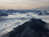 View from the Mount Santis, Appenzell Innerrhoden, Switzerland Fotografie-Druck von Ivan Vdovin