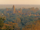 Angkor, Siem Reap, Cambodia Photographic Print by Walter Bibikow