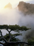 Huang Shan Mountains, Anhui Province, China Photographic Print by Peter Adams