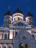 Alexander Nevsky Church, Tallinn, Estonia Photographic Print by Russell Young