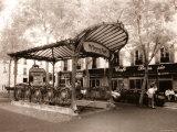 Abbesses Metro, Paris, France Papier Photo par Jon Arnold
