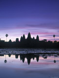 Angkor Wat, Siem Reap, Cambodia Photographic Print by Walter Bibikow