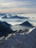 View from the Mount Santis, Appenzell Innerrhoden, Switzerland Photographic Print by Ivan Vdovin